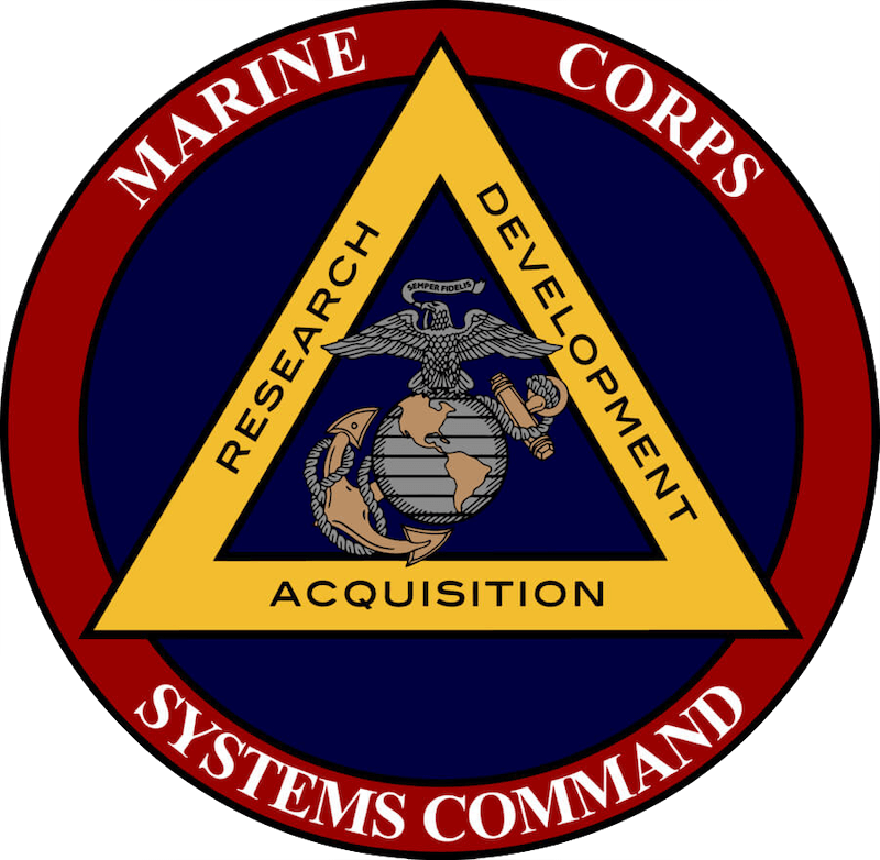 Marine Corps Systems Command logo