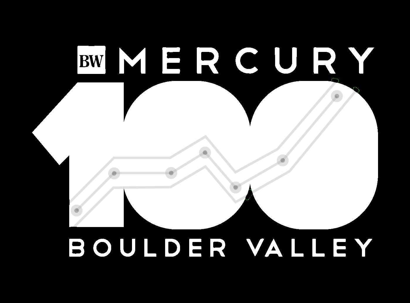 BizWest Mercury 100 award logo