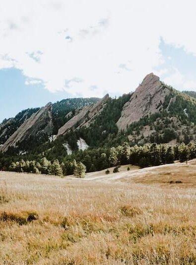 Boulder, CO flatirons